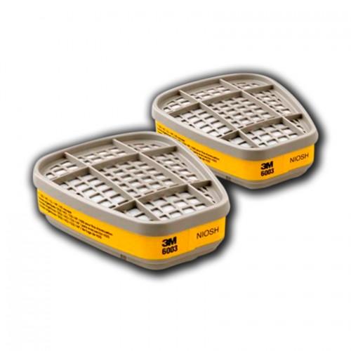 Filtro 3M Vapores Orgánicos y Gases Ácidos 6003 3M