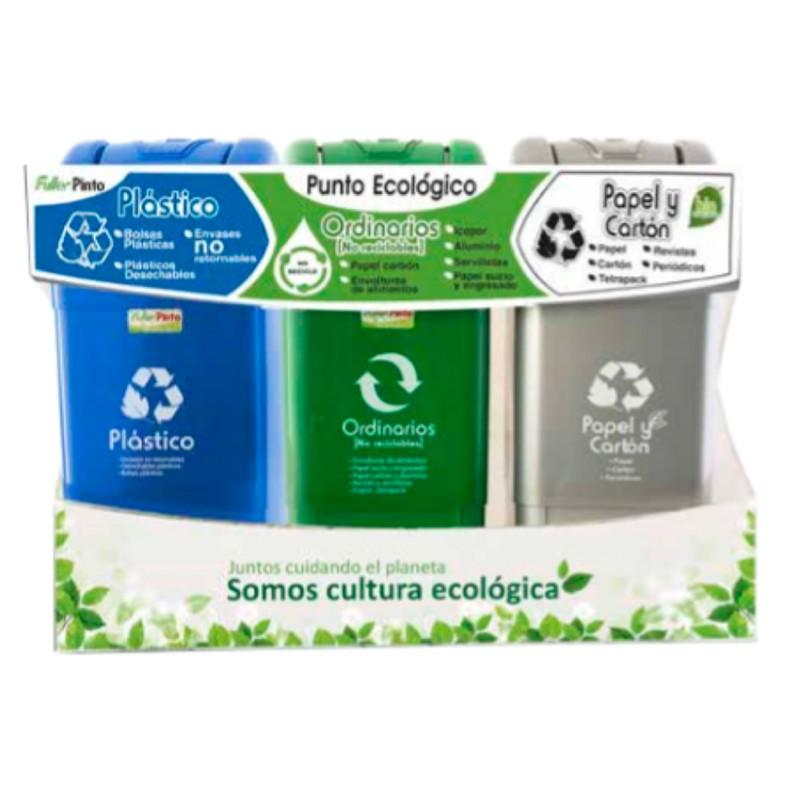 Punto ecológico Ecoplas 35 L.