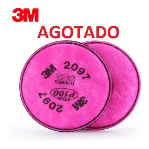 Filtro alta eficiencia particulado 3M REF 2097